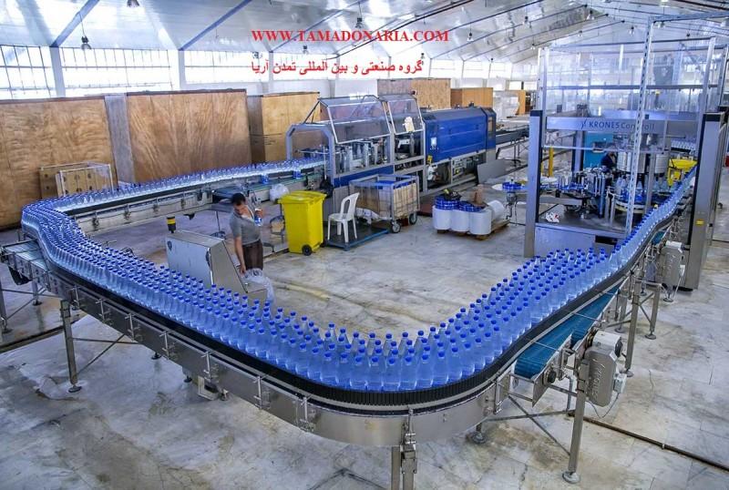 راه اندازی خط تولید آب معدنی