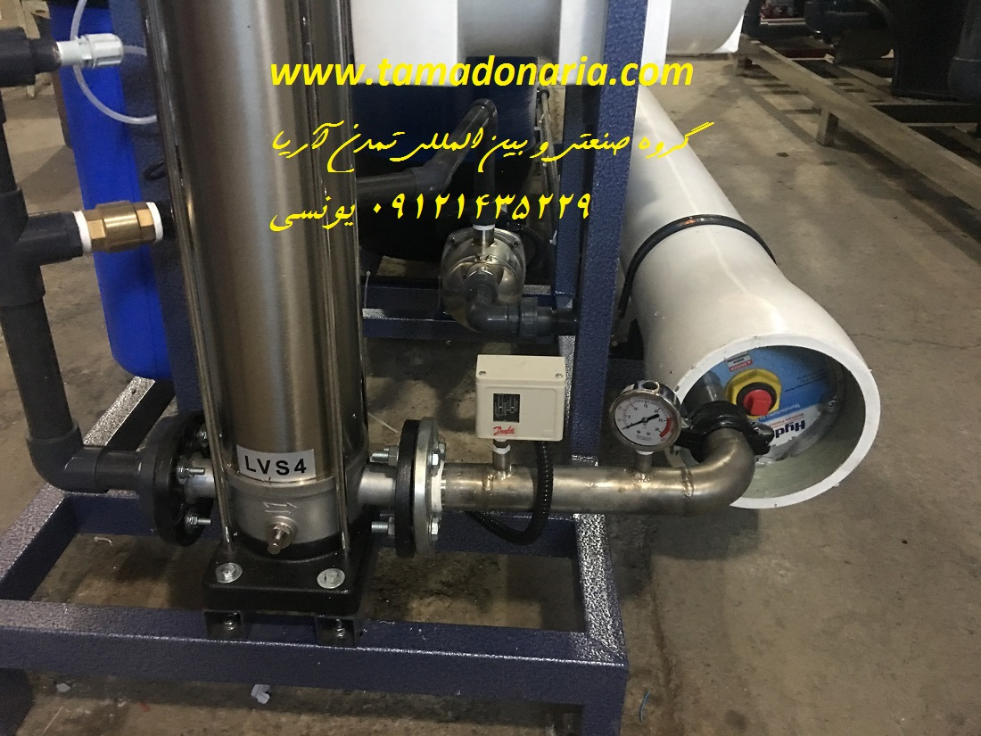 پکیج تصفیه آب صنعتی